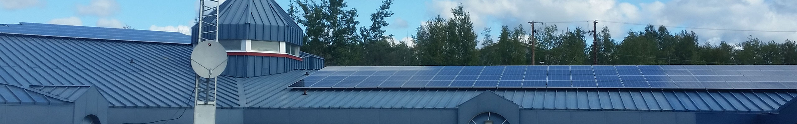 Solar Installation | Points Athabasca